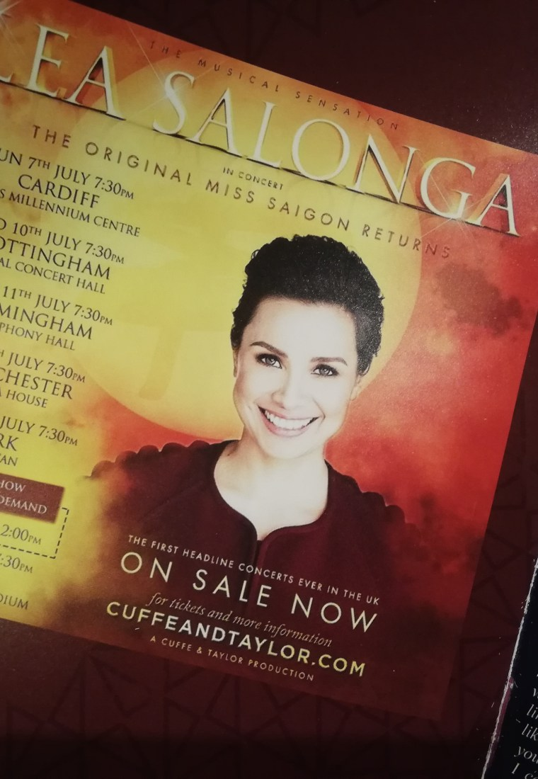 Review:  Lea Salonga in Concert, July 2019