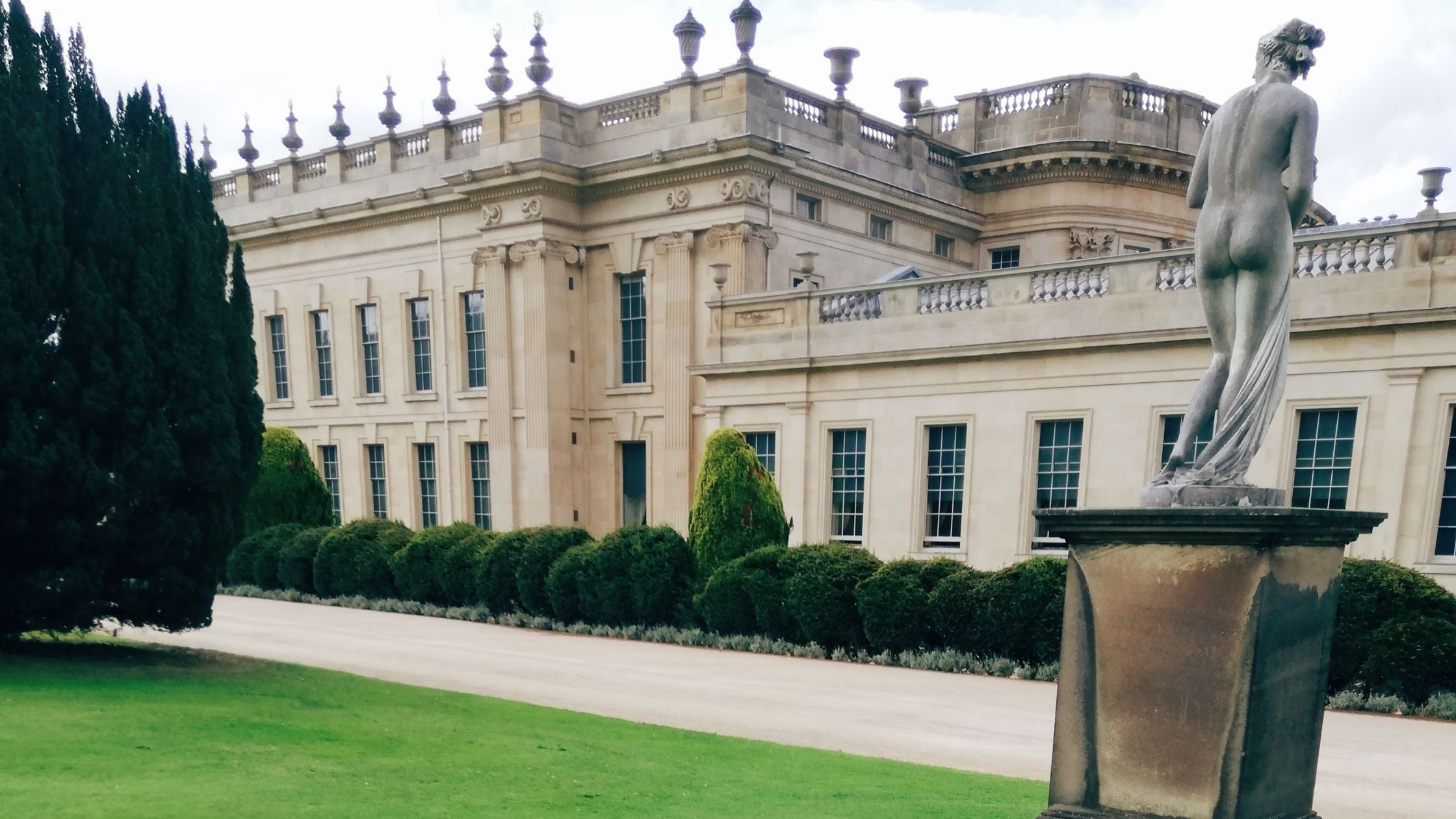 These Covid Days: Chatsworth House & Gardens