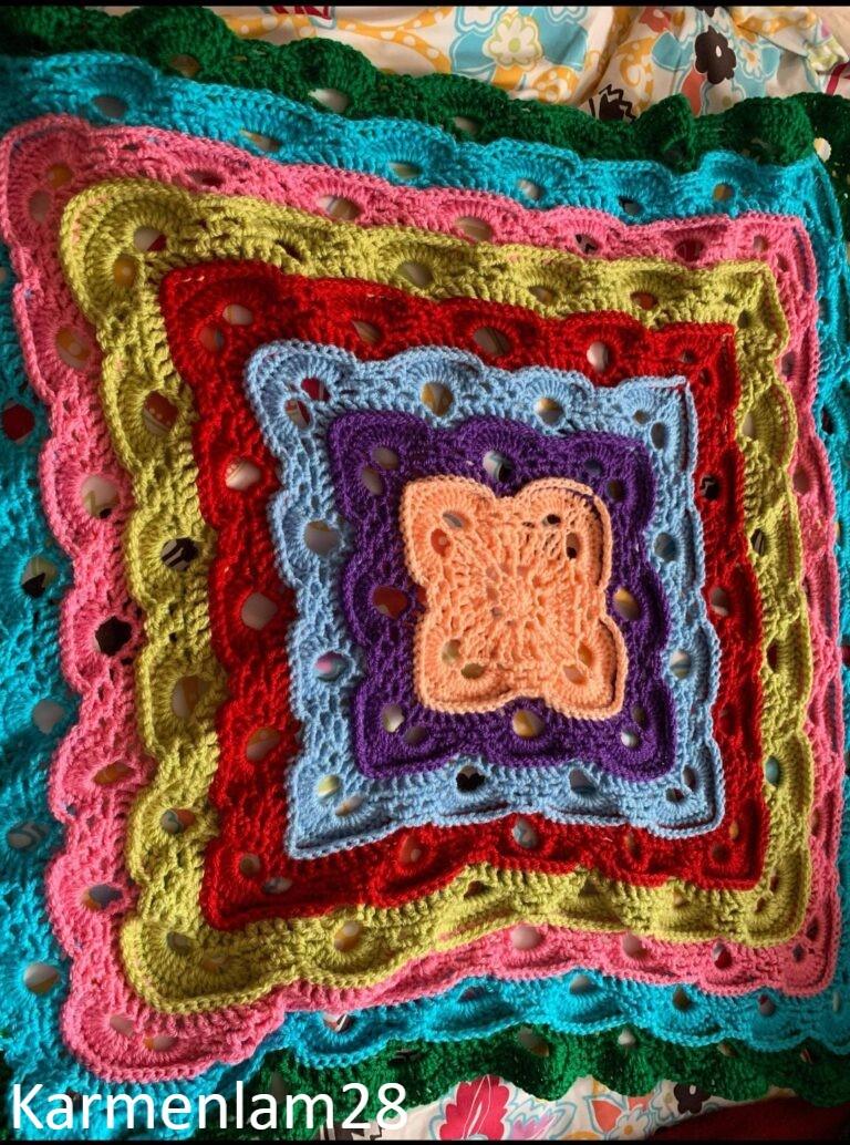Textured Virus Blanket by KarmenLam28