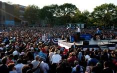 US President Barack Obama speaks during