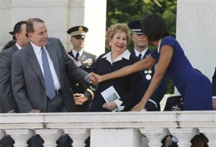 Michelle Obama, Elizabeth Dole, Bob Dole