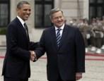 Barack Obama, Bronislaw Komorowski