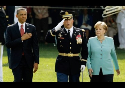 Obama Hosts German Chancellor Angela Merkel For Official Visit To Washington