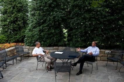 Barack Obama Meets With Speaker Boehner