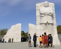Martin Luther King Memorial Dedication Held On National Mall