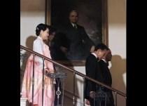 Barack Obama, Michelle Obama, Lee Myung-bak, Kim Yoon-ok