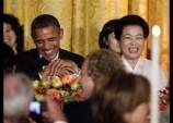 Barack Obama, Kim Yoon-ok