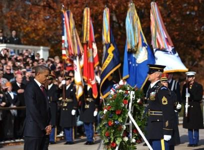 US President Barack Obama takes part in