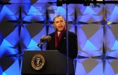 US President Barack Obama speaks before