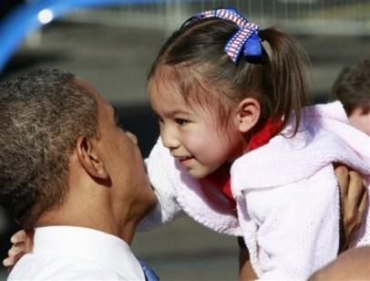 Barack Obama, Madison Devera
