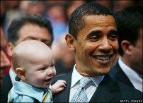 President Obama & Babies