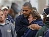 Christie and Obama Tour26