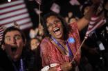 Supporters celebrate Obama20