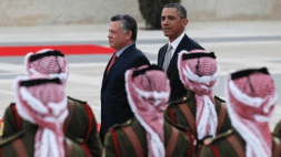 Potus arrives in Jordan21