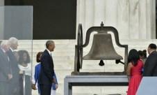 US-POLITICS-OBAMA-MLK-MARCH-ANNIVERSARY