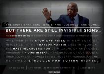 John Lewis Trayvon Martin Injustice