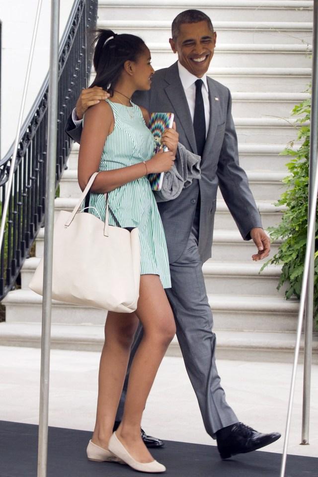 Happy 15th Birthday First Daughter Natasha (sasha) Obama