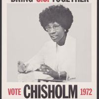 Thursday Open Thread | Black Historical Political Figures: Congresswoman Shirley Chisholm