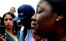 A tear runs down the face of Allysza Castile, the sister of Philando Castile, as she talks to the media after a not-guilty verdict in the trial of St. Anthony police officer Jeronimo Yanez at the Ramsey County Courthouse in St. Paul on June 16, 2017. A jury found Yanez was reasonable in his decision to fatally shoot Philando Castile during a traffic stop in Falcon Heights in July 2016. (Jean Pieri / Pioneer Press)
