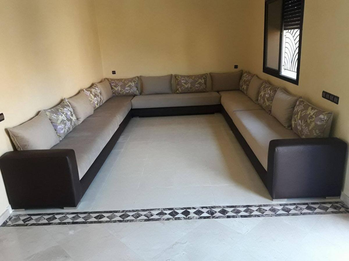 Salon Marocain L 3m Sur 4m Ameublement Marrakech Maison Et