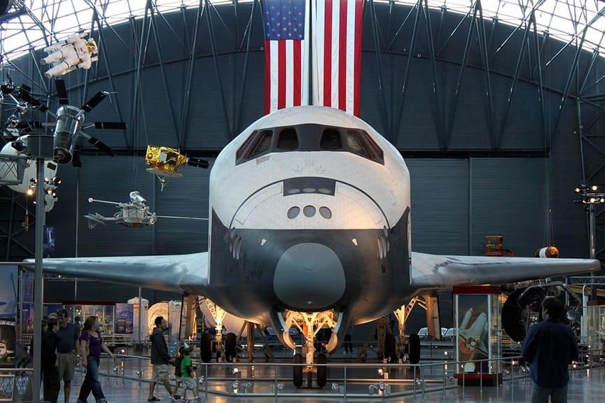 Национальный музей авиации и космонавтики в США.