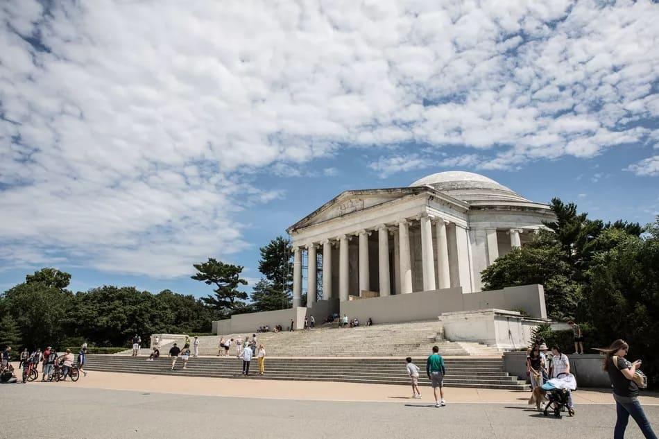 Мемориал Томаса Джефферсона. Jefferson Memorial.  Вашингтон