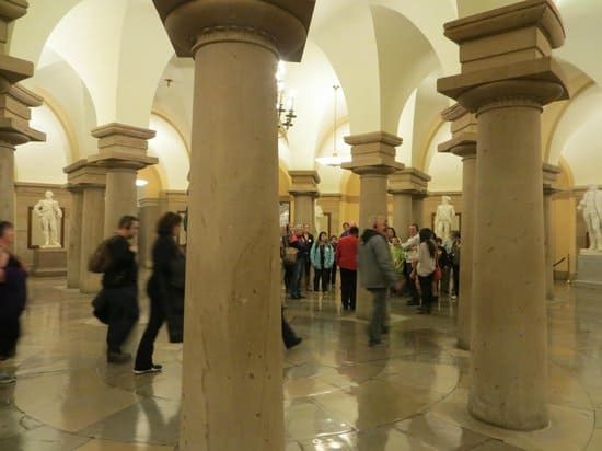 Crypt of the U. S. Capitol