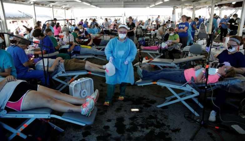 Медицина США. Пациенты, которых лечат в стойлах для животных 11