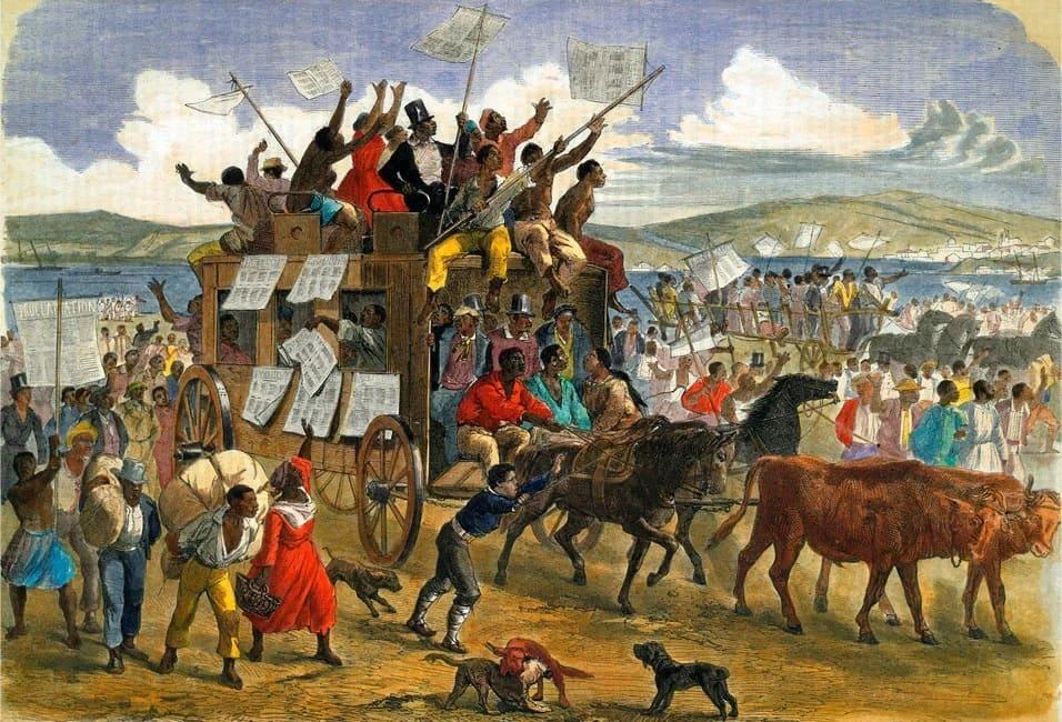Борьба рабов за свободу. Восстание Стоно. Северная Америка 1708