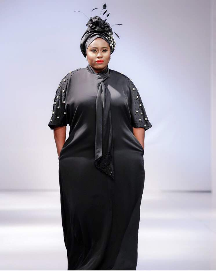 Lydia Forson at Glitz Africa Fashion Week