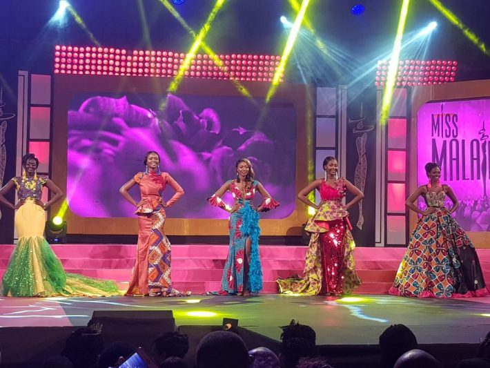 Miss Malaika 2017 Top 5, Vanessa, Pearl, Helen, Keila, and Eleanor