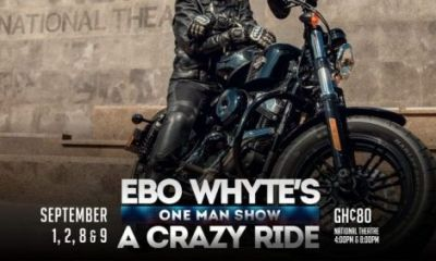 Uncle Ebo Whyte thrills patrons with his one man show