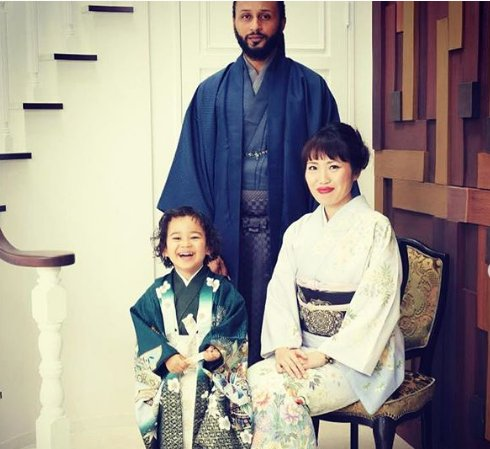 Photos: See Wanlov Kubolor's Japanese wife and son.