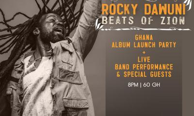 "Rocky Dawuni hosts ""Beats Of Zion"" Concert on March 23"