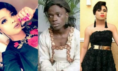 'If I could change one thing about myself I'll go back to my natural complexion' - Bobrisky