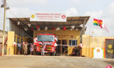 Kasapreko donates fire station worth GH¢400,000 to GNFS