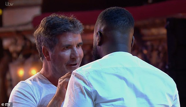 Kojo Anim, the comedian that got a 'golden buzzer' from Simon Cowell