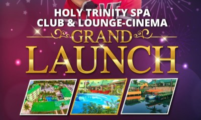 holy trinity spa club and cinema launch