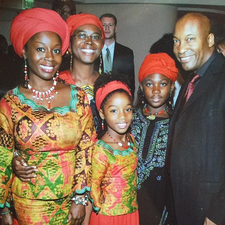 Late John Singleton's Ghanaian ex-wife Akosua Busia pays tribute to him.