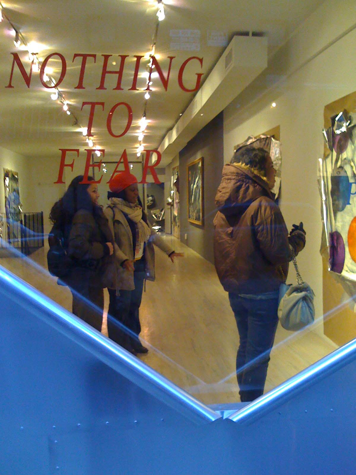 "Bridge Gallery- Peter Gray's ""Nothing to Fear"""