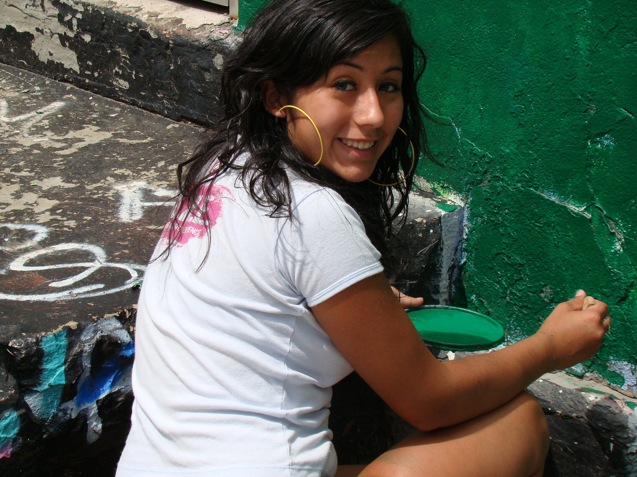 YOUNITY YOUTH- talia prepping the walls