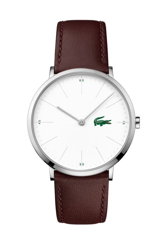 lacoste heren horloge moon ultra slim lc 2010872
