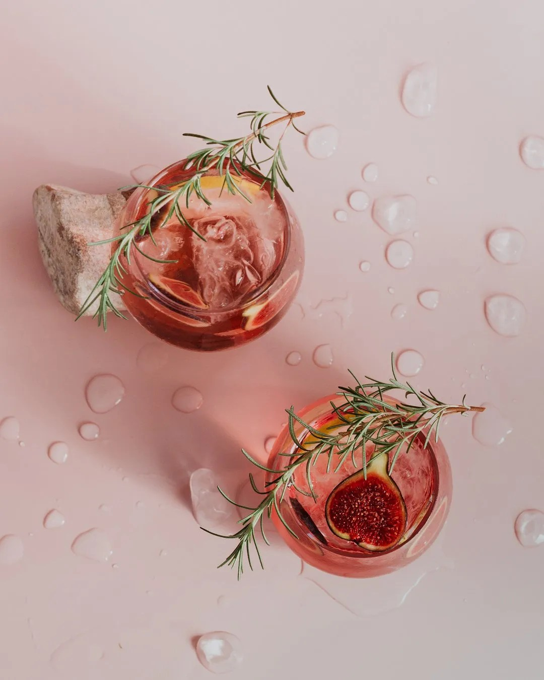rose spritz cocktail