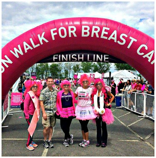 2014 Boston Avon Walk for Breast Cancer - AffiliateMarketersGiveBack Team