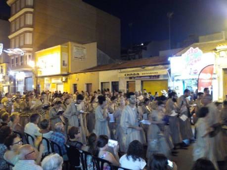 Desfiles con Moros Negros La Pluma