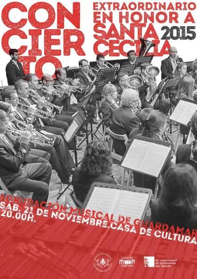 CARTEL CONCIERTO SANTA CECILIA 2015