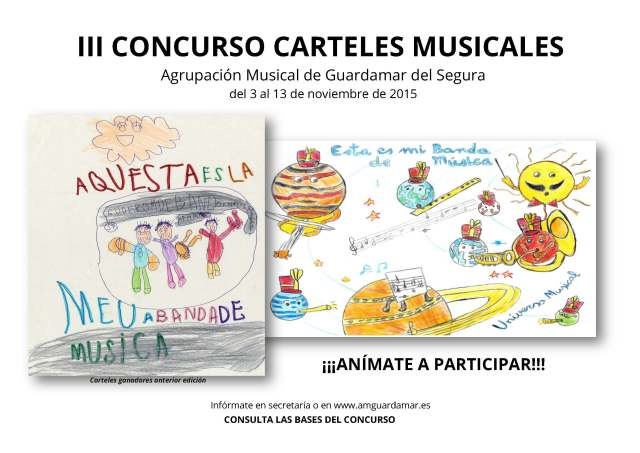 CARTEL III CONCURSO CARTELES MUSICALES 2015