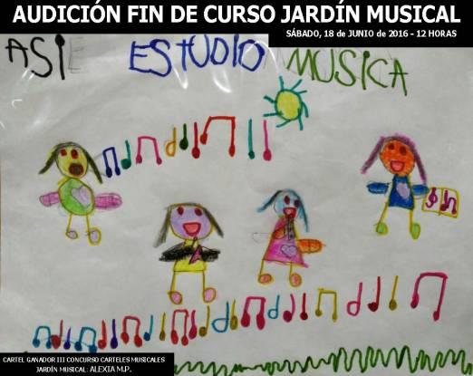 AUDICIÓN FIN DE CURSO JARDÍN MUSICAL