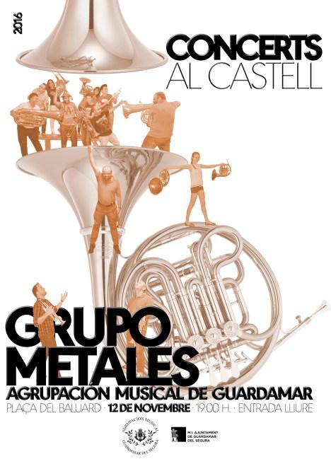 2016-11-12 CONCERTS AL CASTELL - GRUPO METAL