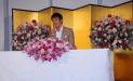 阿部寛の結婚会見